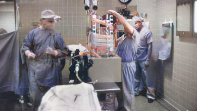 Photo of It was the first time in the world that a human heart was transplanted